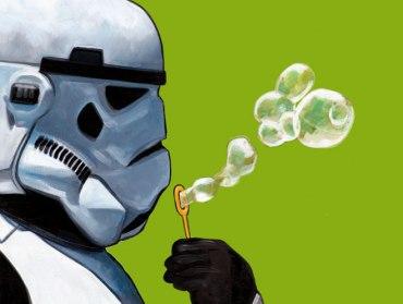 Take hard times like a Stormtrooper.